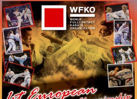 אליפות האירופה ה-1 בקראטה מגע מלא (WFKO)