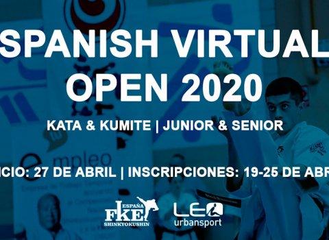Виртуальный Чемпионат Испании по каратэ Киокушинкай 2020